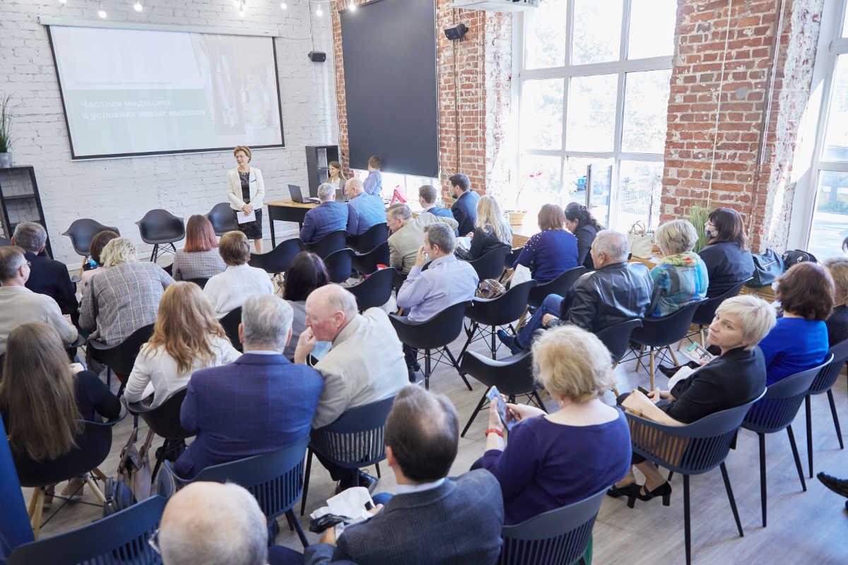 Представители НАМО приняли участие в конференции 'Частная медицина в условиях новых вызовов', которая состоялась в г. Иваново 10 сентября 2021 года